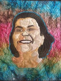 Dr. Claudine Michel quilt by Dr. Lupe Navarro-Garcia